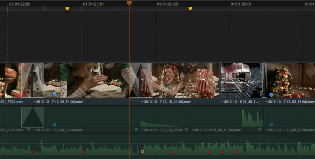 Markers in Resolve 11