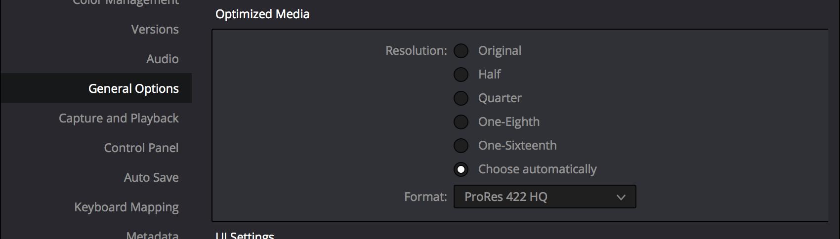 OptimizedMediaSettings