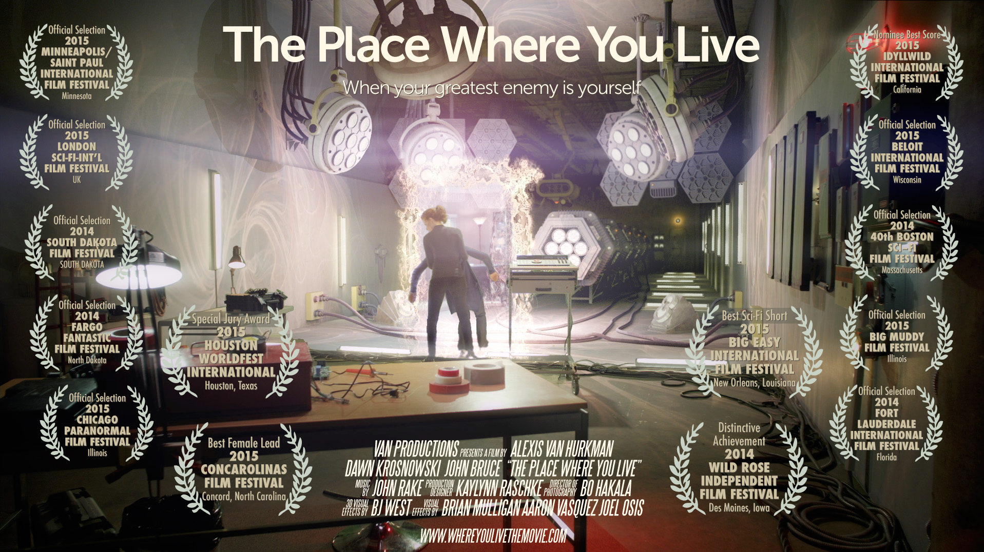 The Place Where You Live Poster