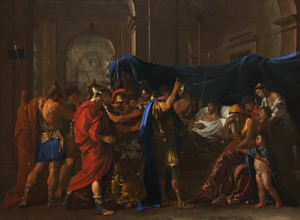 Nicolas Poussin's The Death of Germanicus, 1627