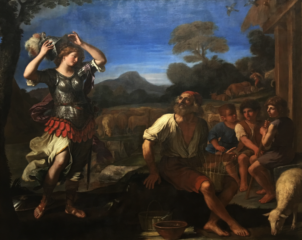 Giovanni Francesco Barbieri's Ermina and the Shepherds, 1648-49