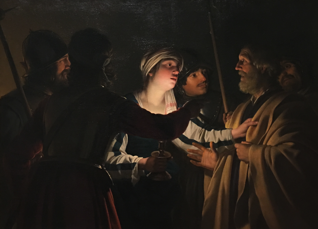Gerrit van Honthorst's The Denial of St. Peter, c. 1623