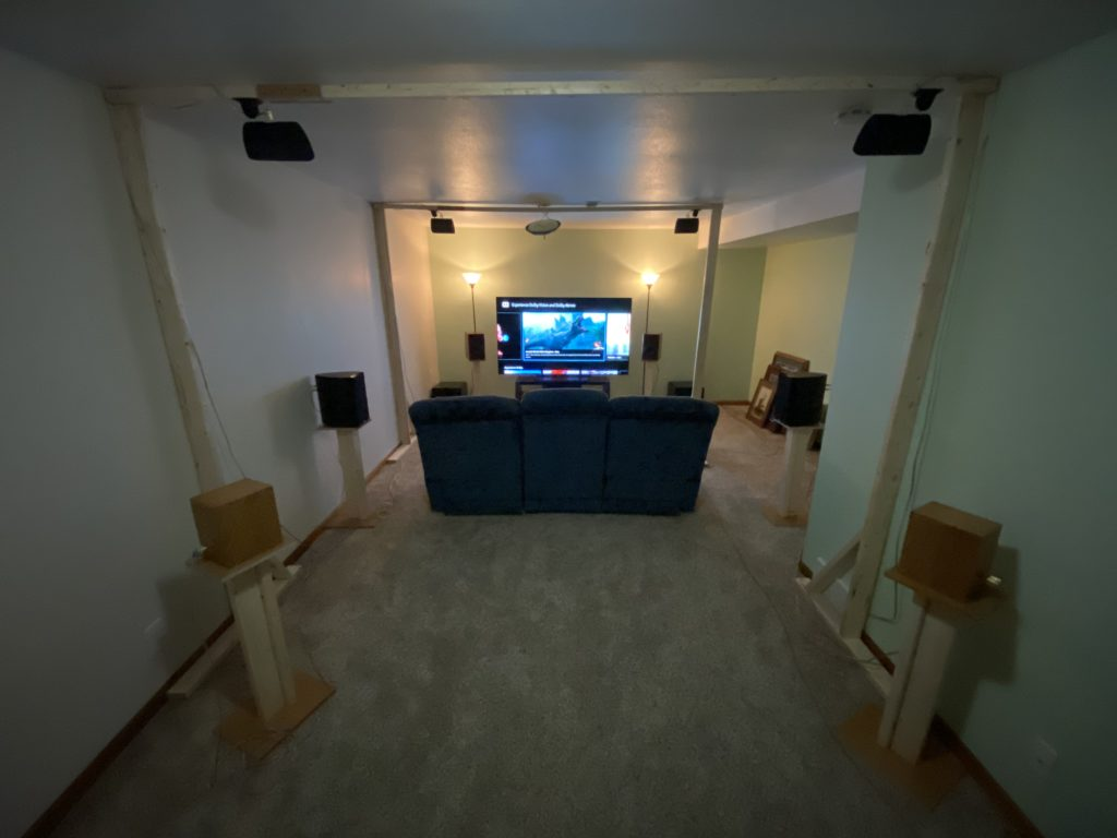 The temporary Atmos 7.2.4 setup
