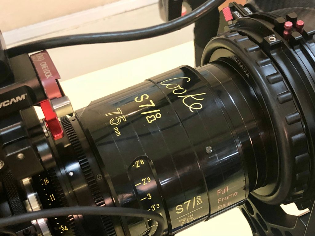 Cooke S7 prime lenses