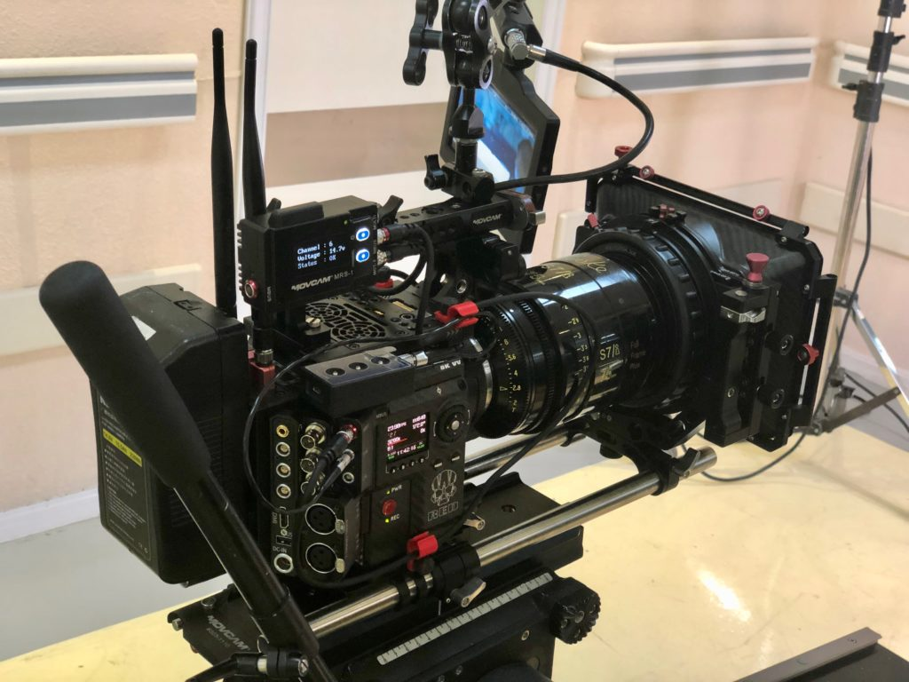 RED Monstro with Cooke Primes